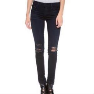 jbrand skinny leg black jeans